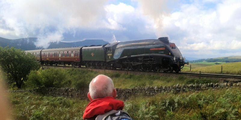 Steam on Settle to Carlisle railway