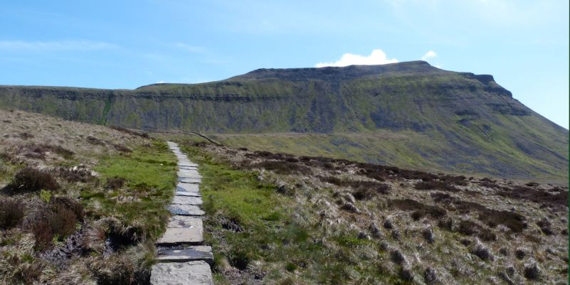Duck Boards on Ingleborough