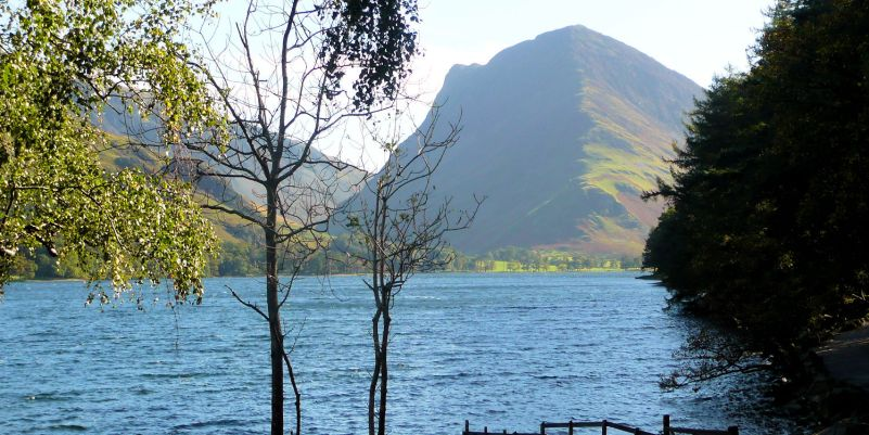 Fleetwith Pike over Buttermere