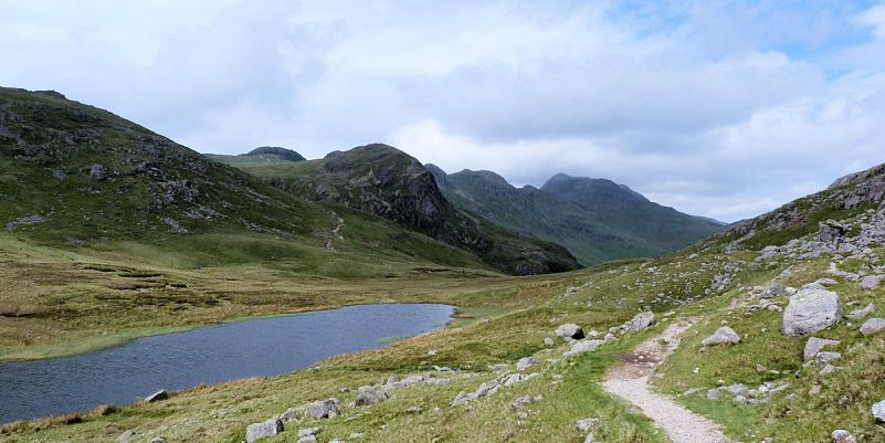Red Tarn & Crinkle Crags