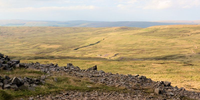 Typical Pennine moorland walking