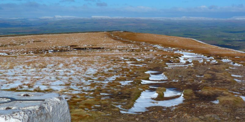 Looking east from Pendle Hill
