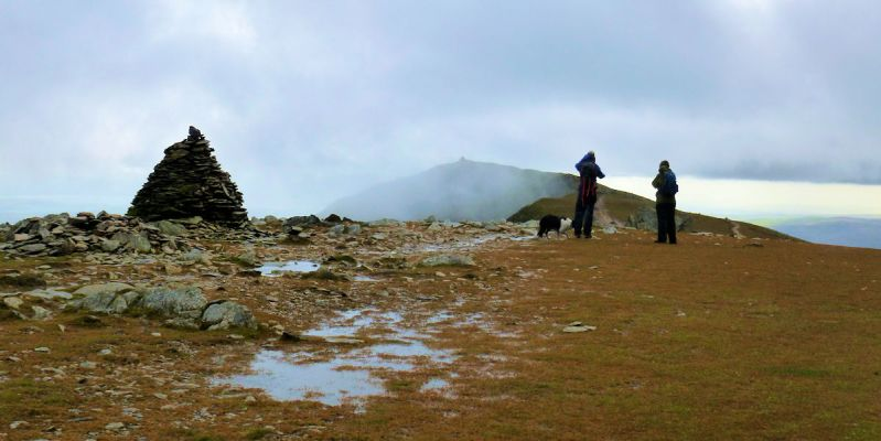 Coniston Old Man from Brim Fell