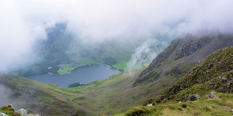 Buttermere from High Stile ridge