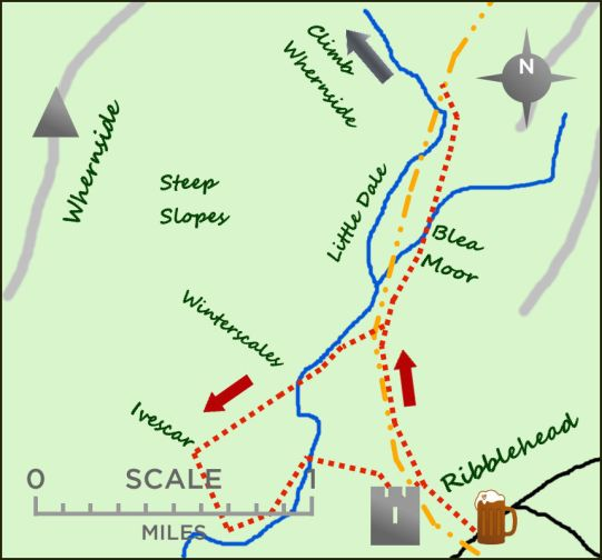 Ribblehead map