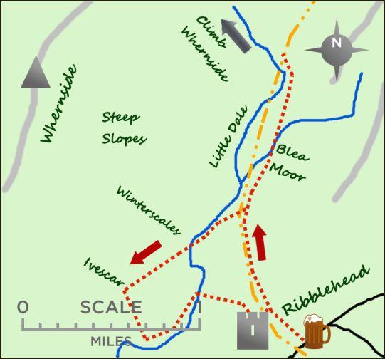 Ribblehead map