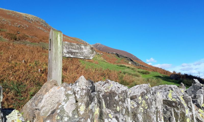 Route up Blencathra