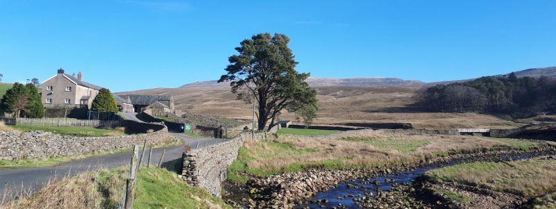 Kingsdale towards Whernside
