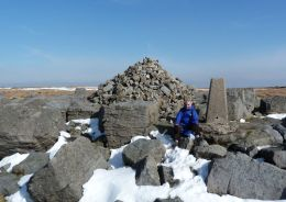 Summit of Great Whernside