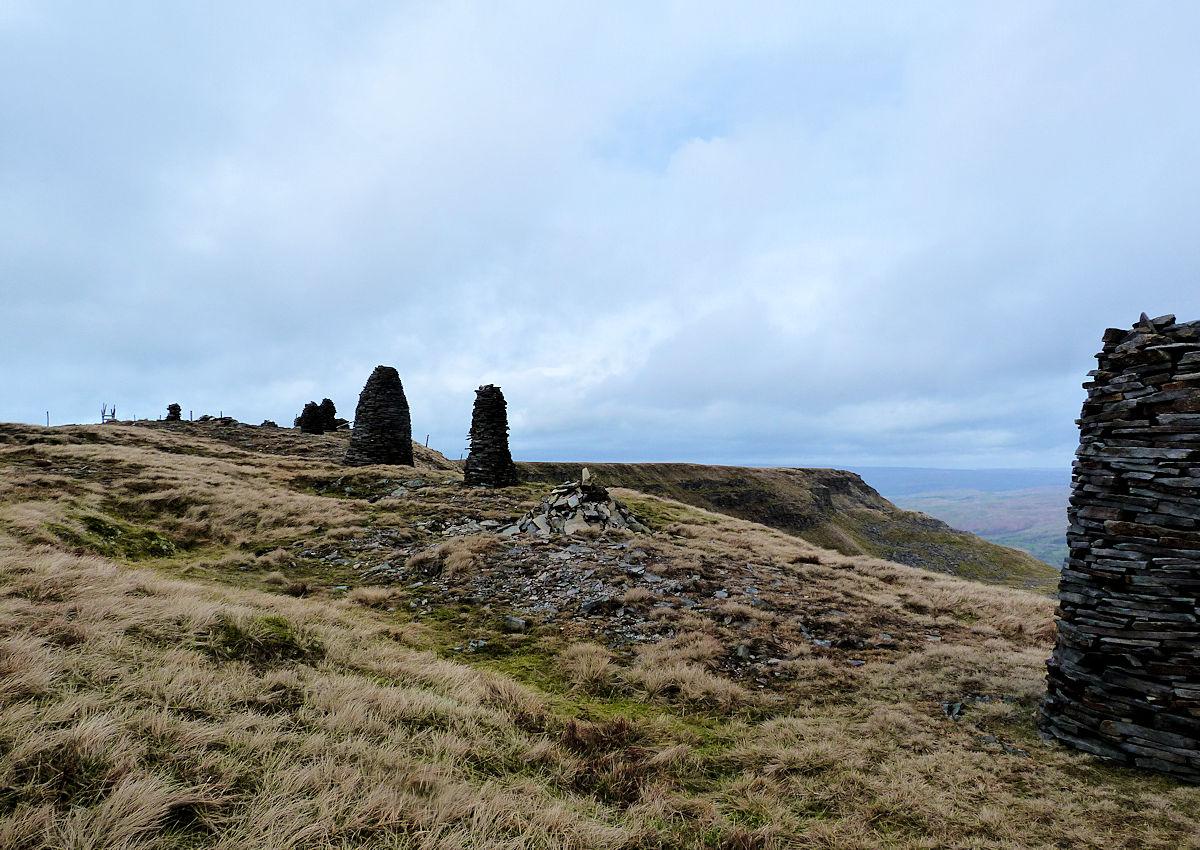 Standing Stones on Wild Boar Fell