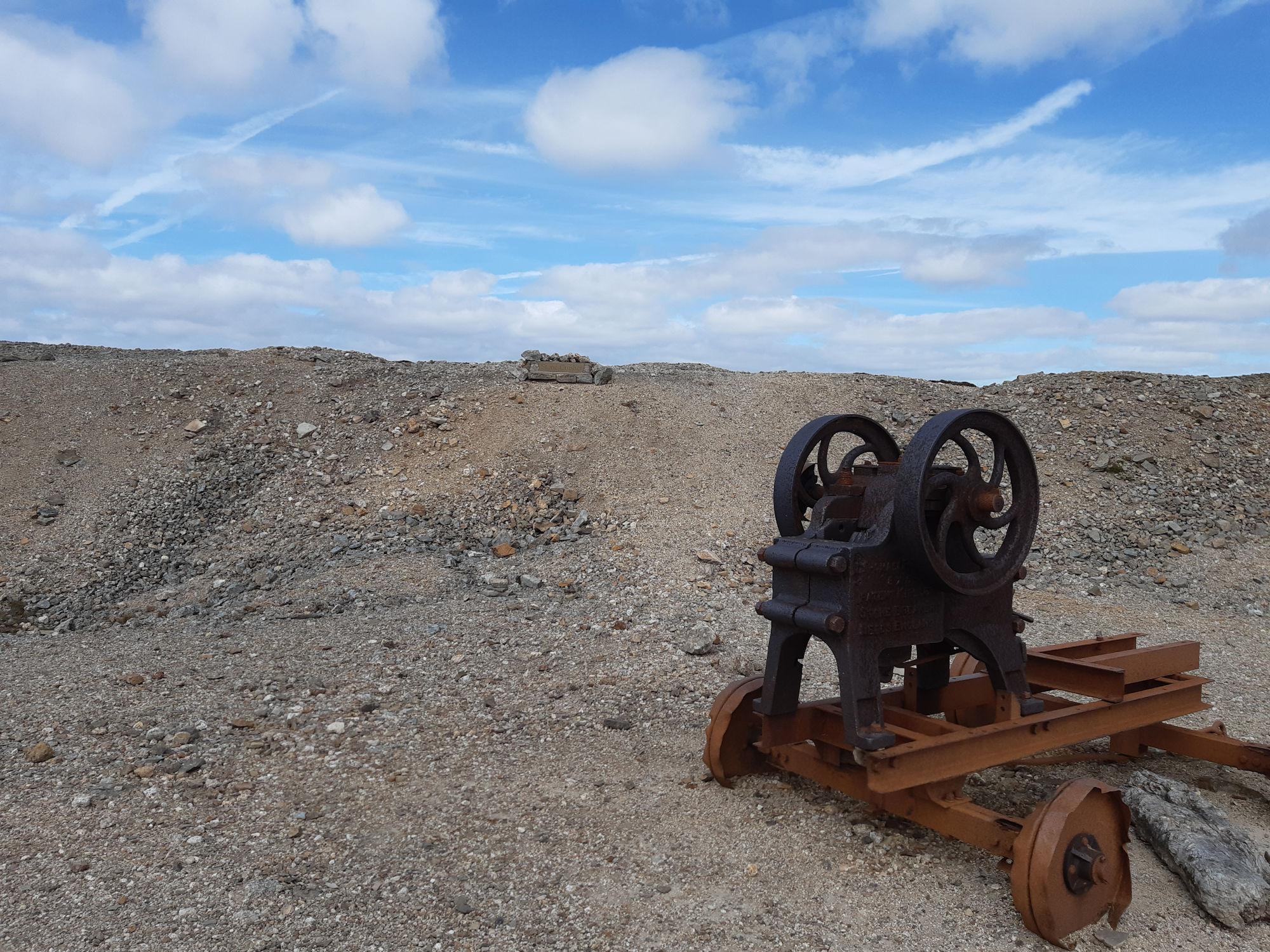 A stone crusher