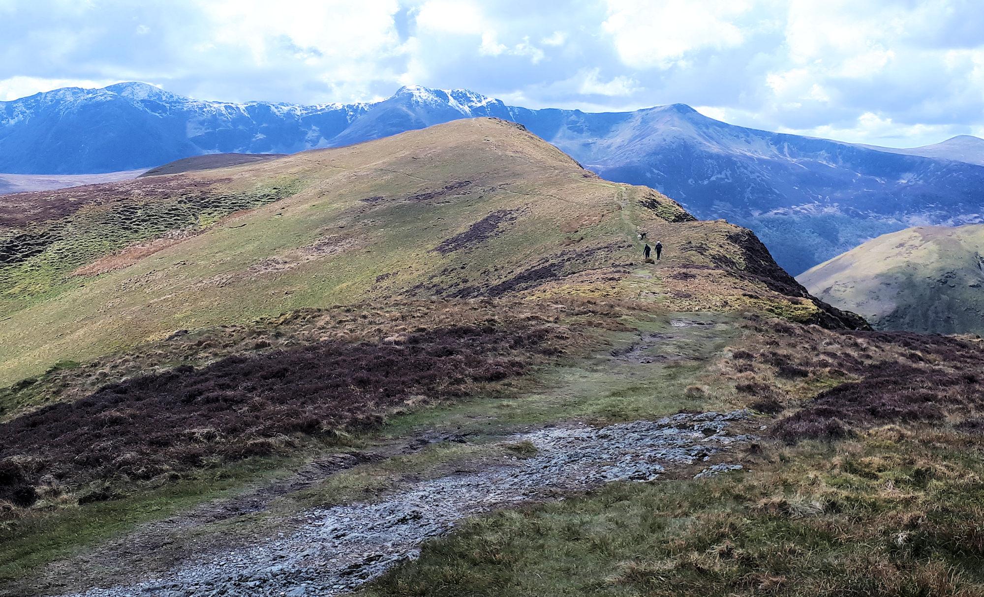 Ard Crags ridge