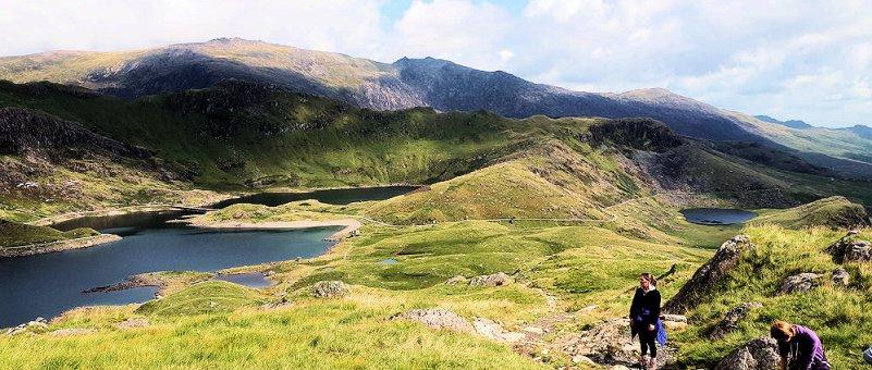 Climbing Y Lliwedd