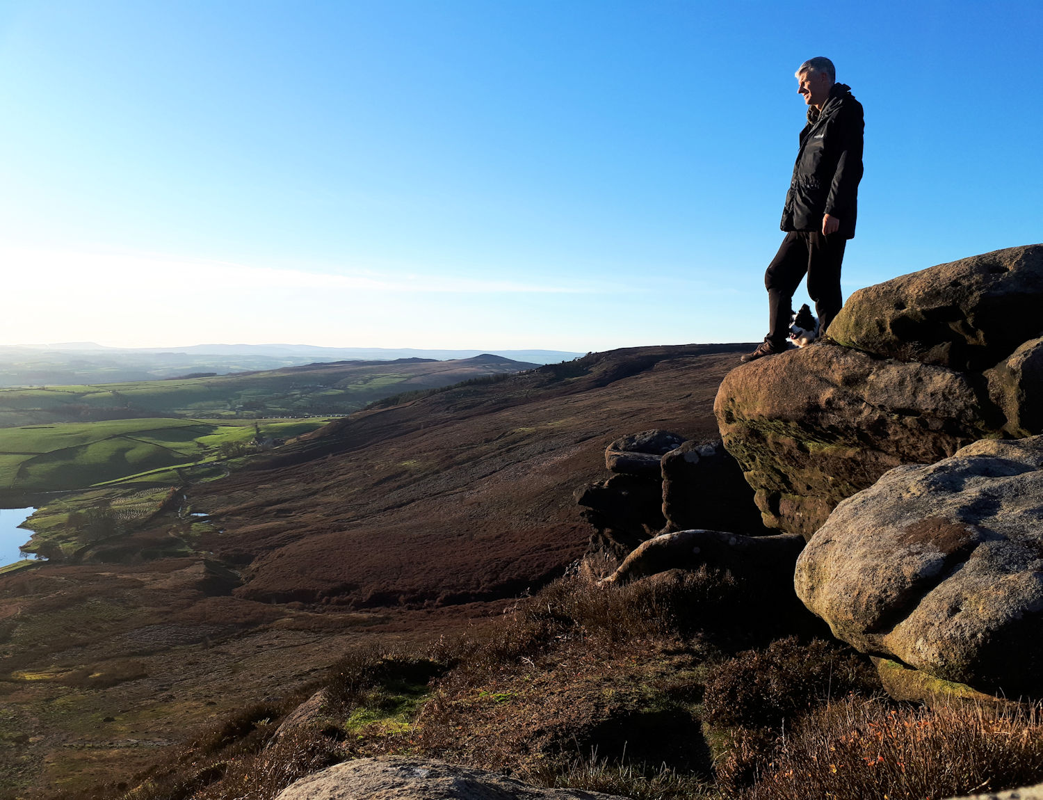 Views from Embsay Crag