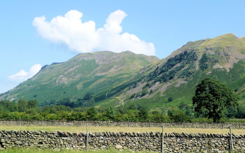 Place Fell over Ullswater