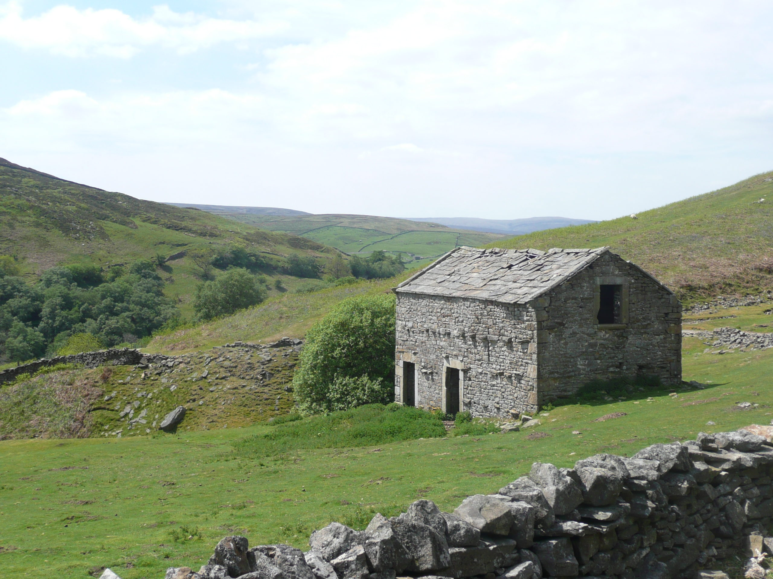 Typical Swaledale Barn