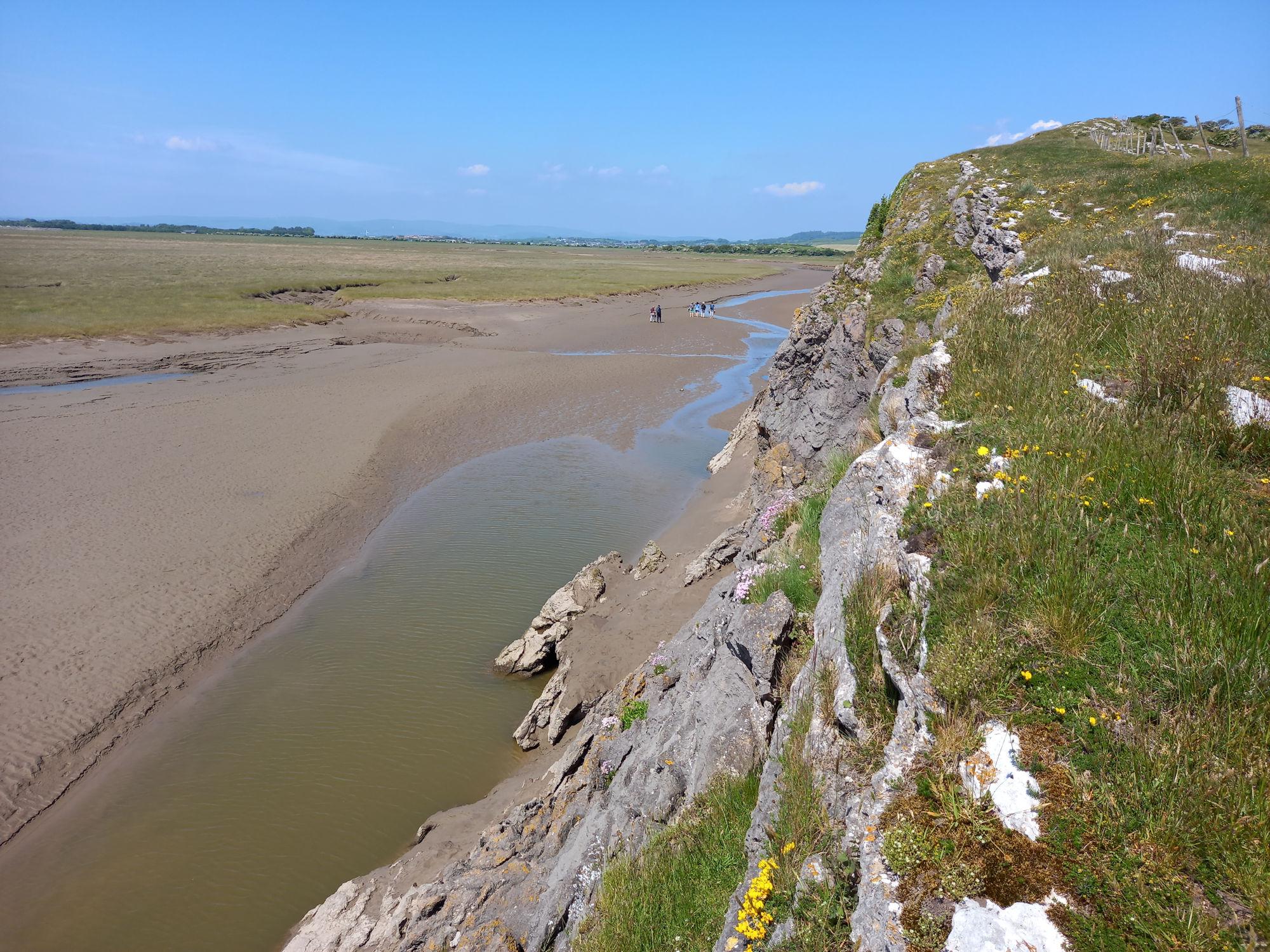 Cliffs on Humphrey Head