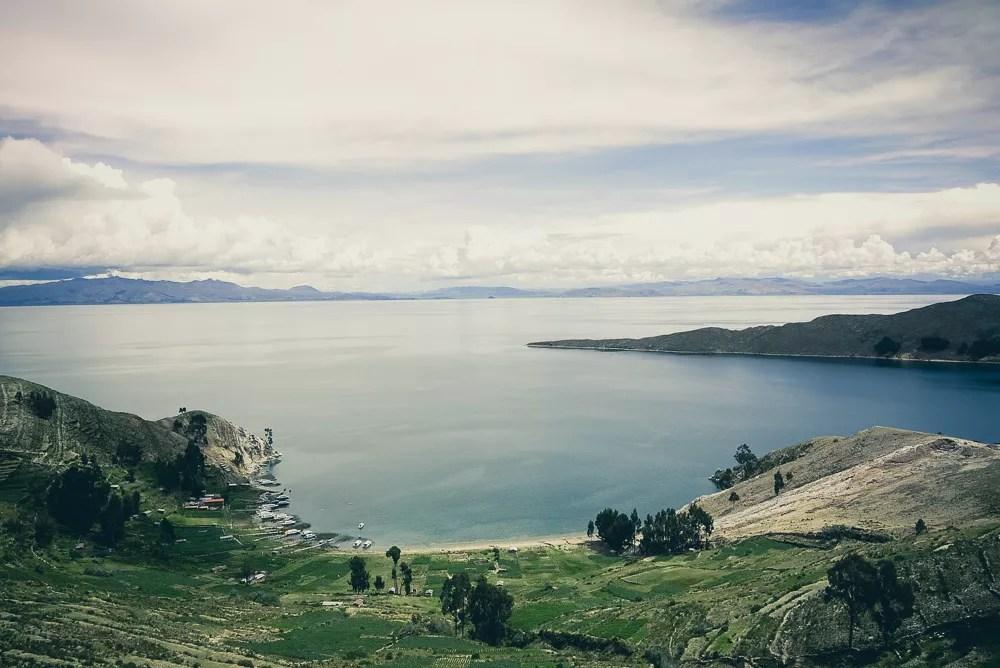 Lake Titicaca From Isla Del Sol