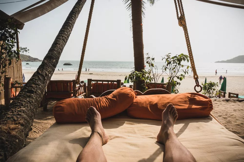 View Of Palolem Beach