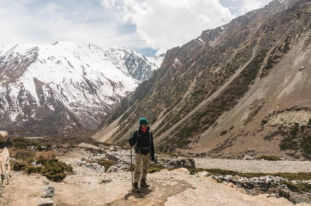 Kien Lam Trekking The Annapurna Circuit
