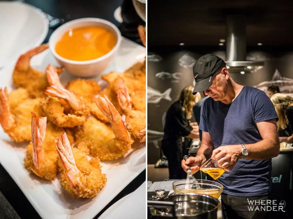 Sydney Seafood School Mark Best Cooking In Kitchen