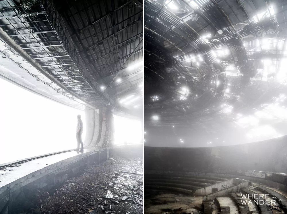 Coolest Abandoned Places In The World: Buzludzha, Bulgaria