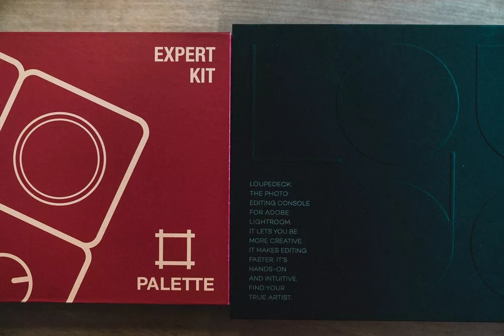 Palette Gear and Loupedeck Packaging