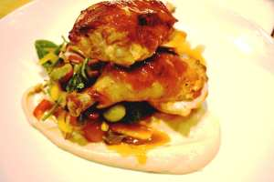 Chef Aaron Chamberlin's Roast Chicken from the St. Francis in Phoenix