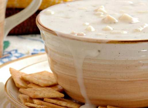 James Beard Foundation Features Thomas Keller's Clam Chowder with Bacon