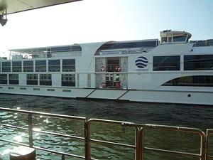 River Boat Embarking Port