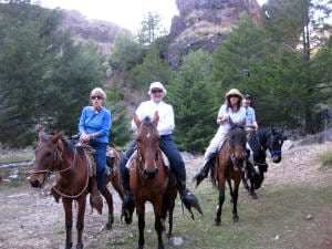 Horseback Riding in the Copper Canyon Photo: Maralyn D. Hill