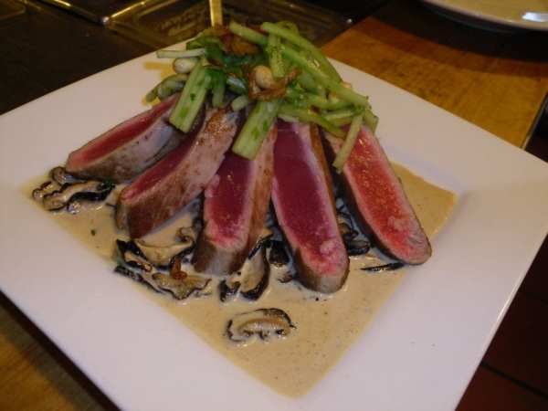 Rare Seared Yellowfin Ahi