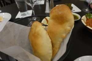 Lebanese Bread Photo: Maralyn D. Hill