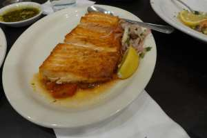 Broiled Salmon Photo: Maralyn D. Hill