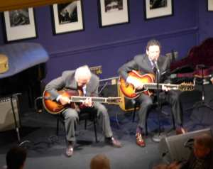 Bucky and John Pizzarelli Photo: Maralyn D. Hill