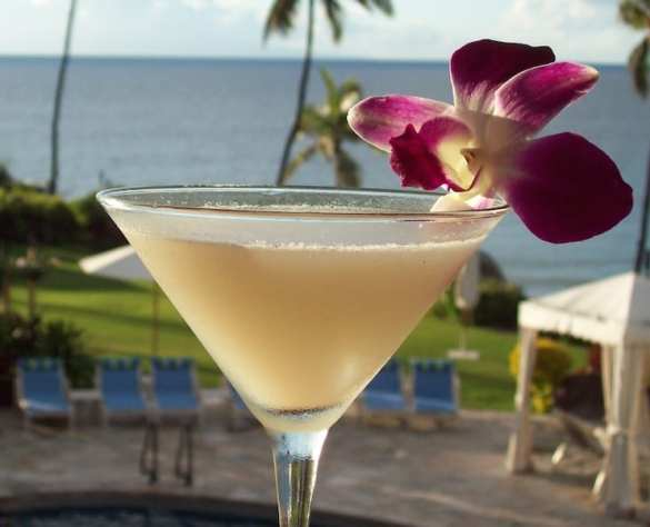 Summertime Fun with the Ocean Sweet Lychee Martini!