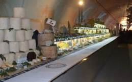 Longest Cheese Tray Photo: Metro News Lyon