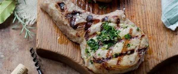 A Touch of Tuscany Pork Chop