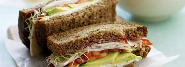 Turkey & Avocado sandwich Copyright Courtesy of Fresh Avocados – Love One Today®