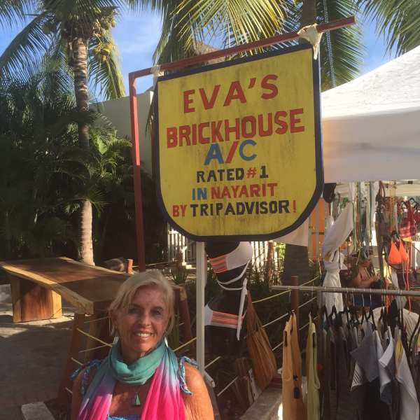 Brenda at Eva's Brockhouse