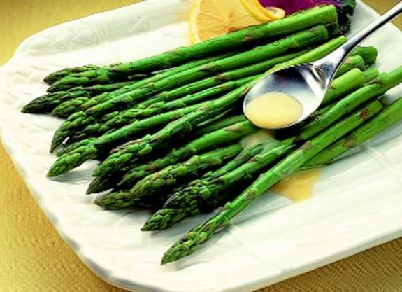Lemon, Butter and Garlic Asparagus
