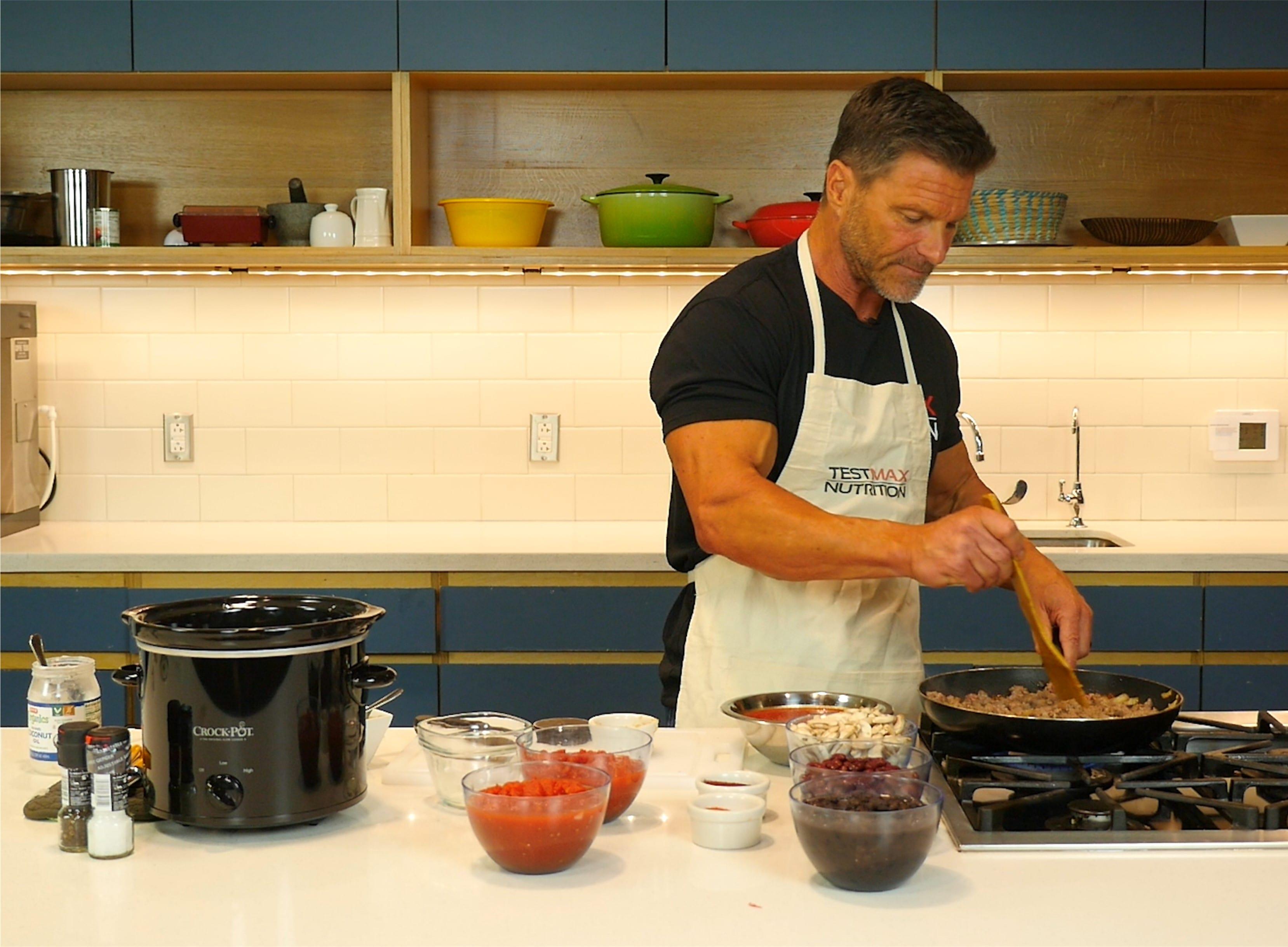 Clark Bartram's Testosterone-Boosting Chili Recipe - Where