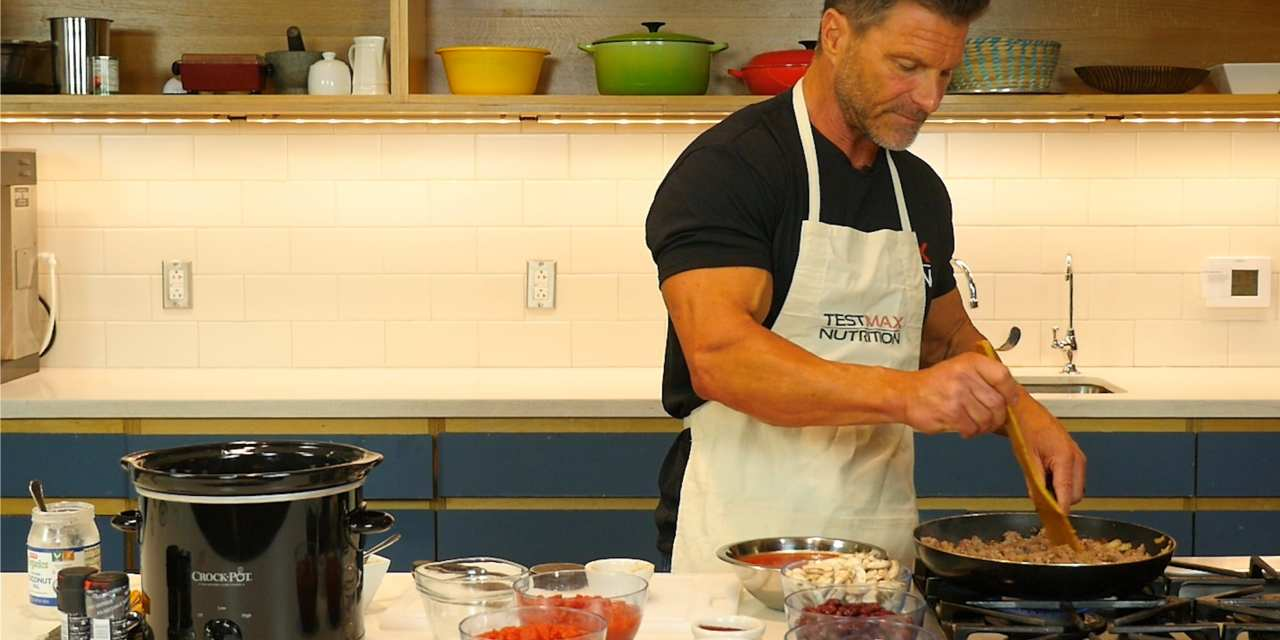 Clark Bartram's Testosterone-Boosting Chili Recipe - Where and What