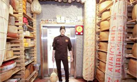 Goose Island Beer Company and Cheese Boutique's Afrim Pristine