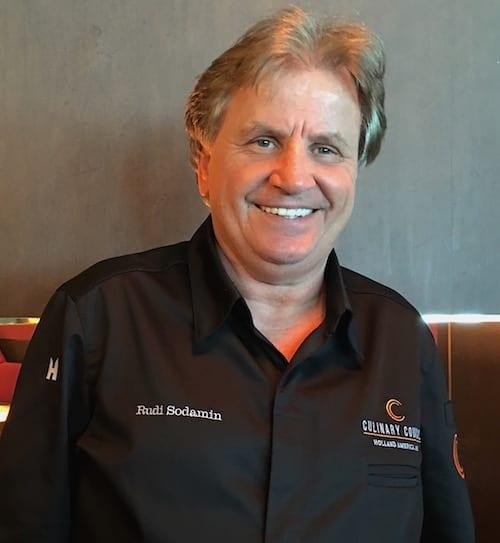 Master Chef Rudi Sodamin - Holland America Line