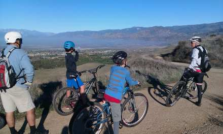 Mountain and road biking a great family activity