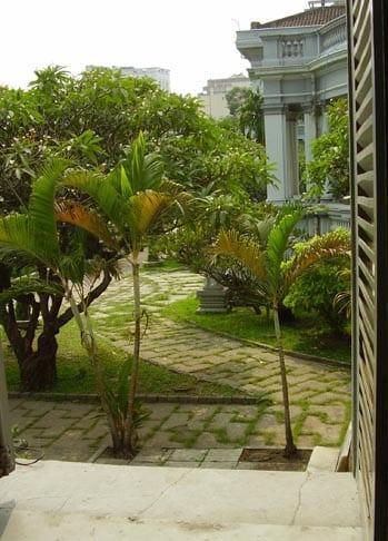 Garden at Saigon Museum/Andrew Kolasinski