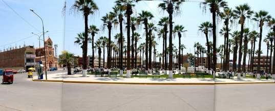 Plaza de Armas, Chincha, Public Domain