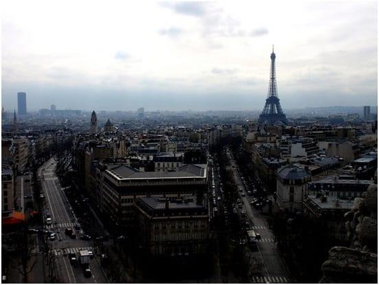 Paris-flicker