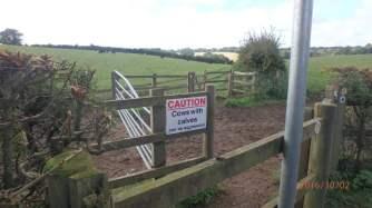 Keep off my land!